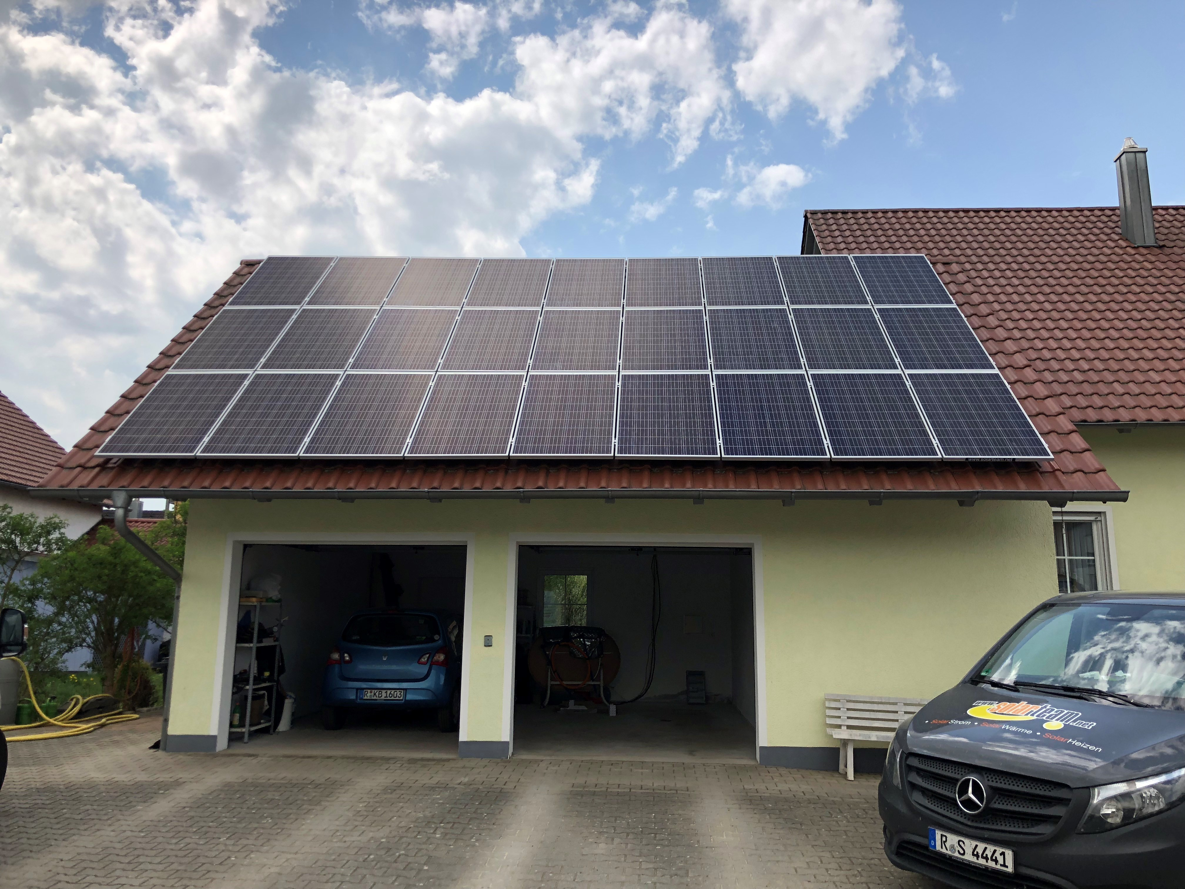 Photovoltaik-Anlagenbau